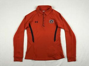 Auburn Tigers Under Armour Polo Womens Orange New without Tags $11.84