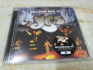 YES HOLLYWOOD BOWL 1975 : MIKE MILLARD MASTER 2CD VIRTUOSO USA ITEM RARE
