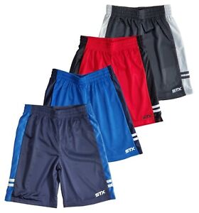 Shorts Boys Athletic Regular Fit Active Mesh 4 Pack Lot Size 8 10 12 14 16 Navy $24.99