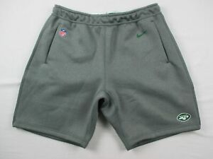 New York Jets Nike Shorts Mens Gray Dri Fit Used Multiple Sizes $30.40