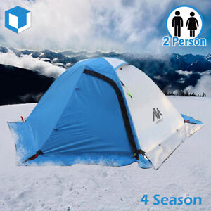 4 Season Backpacking Tent for 2 Person Lightweight Double Layer Camping Hiking