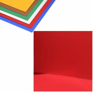 48 piece 6 Colors Metallic Cardstock Paper Sheets 12quot; Square for Craft Art $16.99