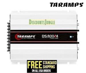 Taramps DS 800x4 2 Ohms Amplifier 4 Channel 800 W Compact Car Amp USA Shipping $154.90