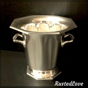 Silver Plated Taunton by Lenox Champagne Bucket Ice Holder Vintage *