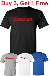 Snap On T Shirt Tools Mechanic Auto Parts Racing Snap on Tee Shirt $13.95