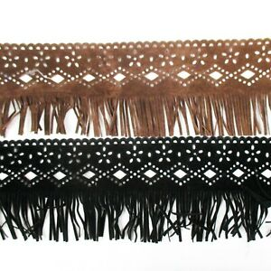 Perial Co 5 Yards Patterned Suede Fringe Trim for Clothes. Dress. Decor Sewing $15.00