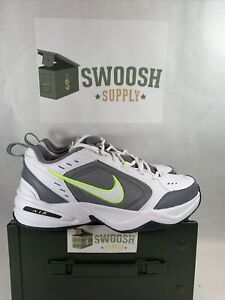 Nike Mens Air Monarch IV White Cool Grey Training Shoes 415445 100 Sizes $59.99