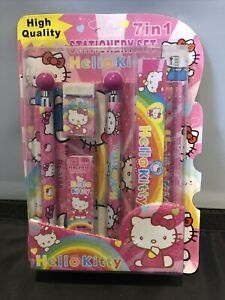 7 In 1 hello kitty stationary set
