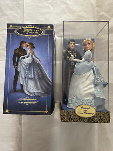 Disney Fairytale Collection Cinderella and Prince Charming Dolls LE 6000 NEW $219.99