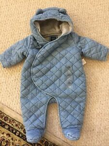 NWT Baby Gap Hooded Snowsuit 3 6 Months $42.00