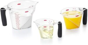 OXO Good Grips 3 Piece Angled Measuring Cup Set $29.99