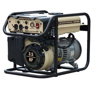 Sportsman Sandstorm Gasoline 2000 Watt Portable Generator Neutral