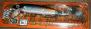 9quot; Squirrely Jake Musky Mania Pike Lure Holoform Silver Shiner SQJ9 901