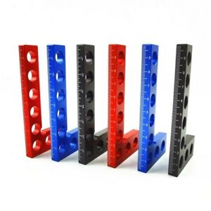 90 Degree Positioning Squares Right Angle Clamps Woodworking Carpenter Tools 4#x27;#x27; $13.82