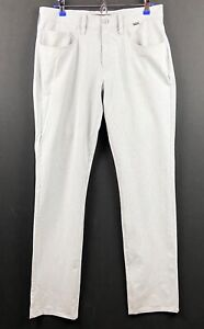 Travis Mathew Gray Golf Casual Front Front Straight Pants Size 32 x 32 EUC $29.99