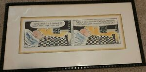 Charles Schulz PEANUTS Limited Edition Lithograph NOTHING PERSONAL $249.00