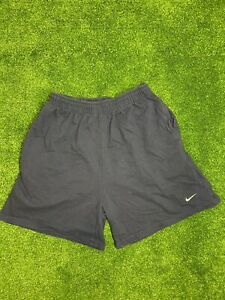 Vintage Nike Running Shorts Mens Size L Blue Embroidered Logo GUC $22.50