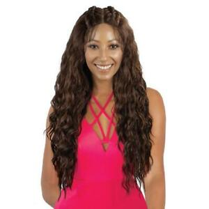 EVE TRU WIG PL VERONICA LACE FRONT WIG WITH MOON PART PRE BRAIDED TOP 3 PARTS $24.99
