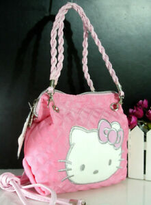 Hello kitty Women Handbag Shopping Shoulder Tote Messenger Bag Purse FREE SHIP