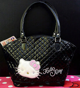 Hello Kitty Women Handbag Ladies Shoulder Tote Bag PU Leather Purse FREESHIPPING