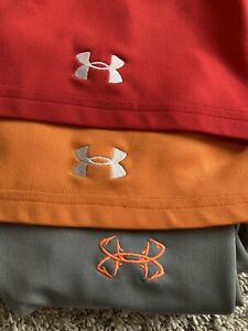 3 Under Armour Golf Shirts Lot XL amp; 2XL Excellent Condition $25.99