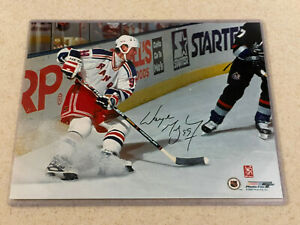 Wayne Gretzky Autographed 8x10 NYR Authenticated by WG $130.00