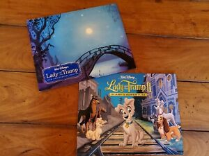 Disney Lithographs Lady amp; The Tramp 50th Edition amp; Lady amp; The Tramp II $29.99