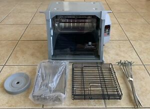 Ronco Showtime 5000 Rotisserie BBQ Silver Tested FREE SHIPPING