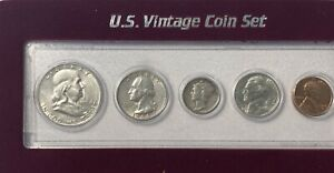 US VINTAGE COIN SET 1954 1960 Special Selection 1960dd Included $55.00