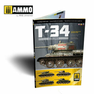 T 34 Tank Camouflage Patterns in WWII English Castellano Russian 88 pages