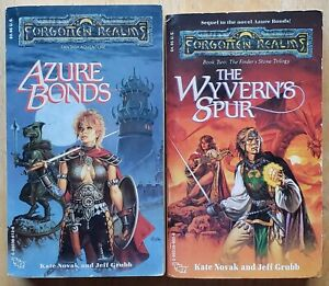 FORGOTTEN REALMS PART OF THE FINDER#x27;S STONE TRILOGY FANTASY PAPERBACK LOT $9.95