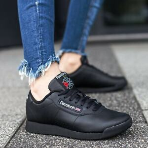Reebok Classic Princess Black Red Womens Shoes Fashion Sneakers Sizes 5 12 New $48.90