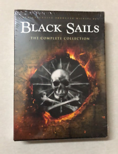 Black Sails Seasons 1 4 The Complete Collection 12 Disc Brand New $20.50