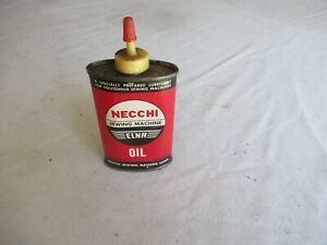 Vintage Necchi Sewing Machine Oil Can Lot 21 17 4 $9.99