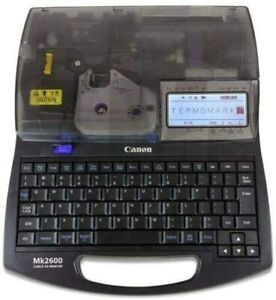 CANON MK2600 Cable ID Printer From Japan New