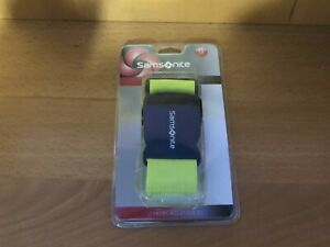 Samsonite Luggage Strap Belt Travel Accessory Neon Green New 45052 1609 $9.99