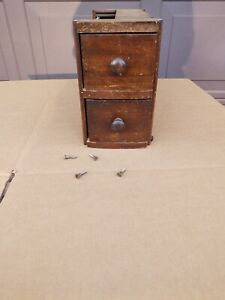 Vtg Sears Sewing Machine Drawers with Frame $21.99