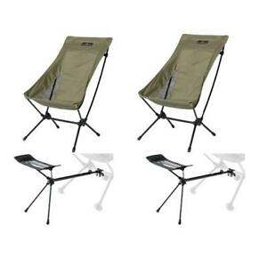 Ogawa Two Angle Chair Olv Footrest 2 Legged Set $361.31