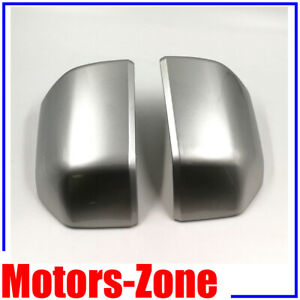 Painted Ingot Silver Metal For15 20 Ford F150 Replacemet Mirror Cover Skull Caps $74.50
