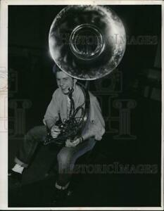 1954 Media Photo Louis Pike of Collinwood High
