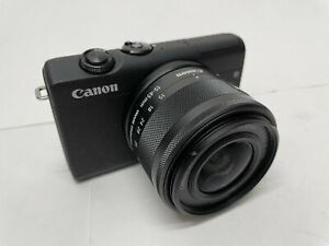 Canon EOS M200 with EF M 15 45mm Lens Great Vlog Camera Black $399.99