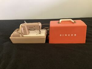 Vintage Singer Sew Handy Childs Mini Electric Sewing Machine Works $40.00