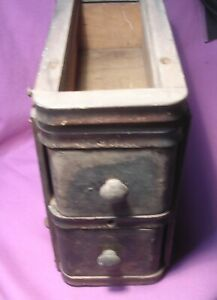 Antique Sewing Machine Drawers with Frame Hanger Singer May 1922? $19.99