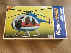 Nichimo NEW unbelievably rare vintage Hughes 500 Helicopter Kit NO. S 2003 $424.99