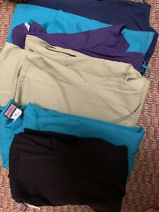 Cherokee scrubs. Lot mixed sizes styles colors. 22 Pants 12 Tops.