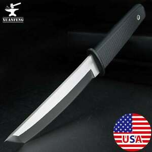 Fixed Blade Knife Outdoor Camping Hunting Survival Samurai Straight Knives