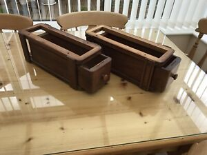 Antique Singer Sewing Machine Drawers And Cradles GBP 45.00