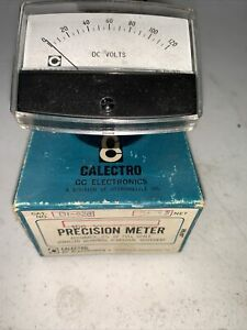 New Old Stock Calectro Precision Meter $30.00