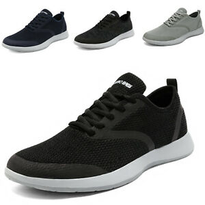 Mens Casual Athletic Jogging Sneakers Outdoor Spots Running Tennis Gym Shoes $17.99
