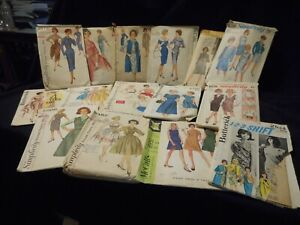 Vintage Sewing Patterns 1960s 1970s Misses Size 14 Lot of 15 $28.00